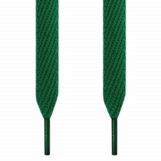 Extrabreite grüne Schnürsenkel