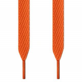 Extrabreite orangene Schnürsenkel