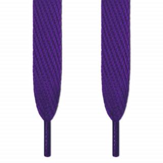 Superbreite violette Schnürsenkel