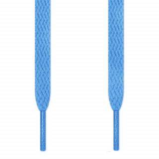 Flache, hellblaue Schnürsenkel