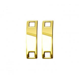 Charms für goldene Schnürsenkel