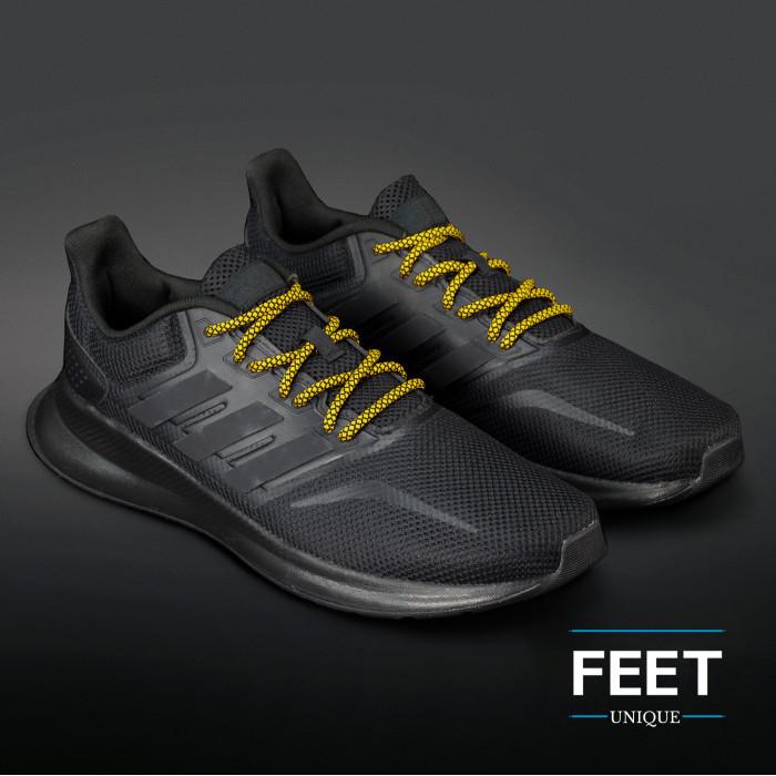 Adidas Yeezy - Schnürsenkel, schwarz und gelb